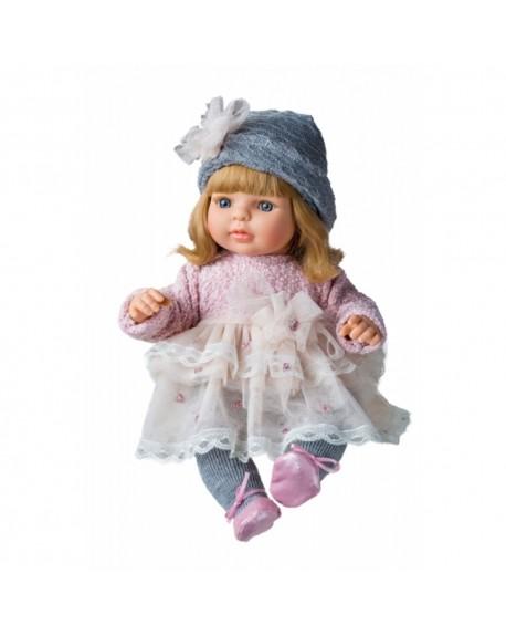 Berjuan Doll Laura with Pink Dress